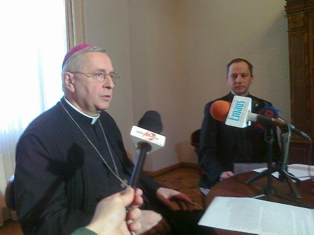 Stanisław Gądecki o papieżu - Wojciech Chmielewski