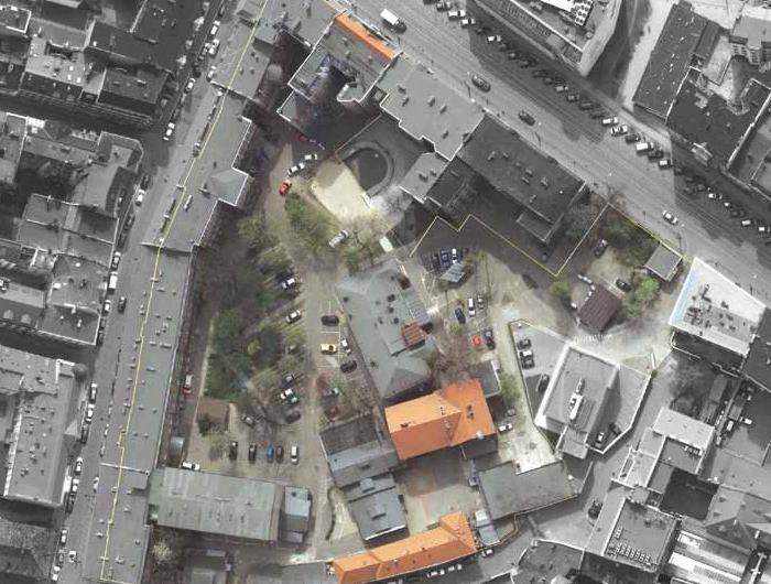 szpital Szkolna  - z góry - Urząd Miasta Poznania