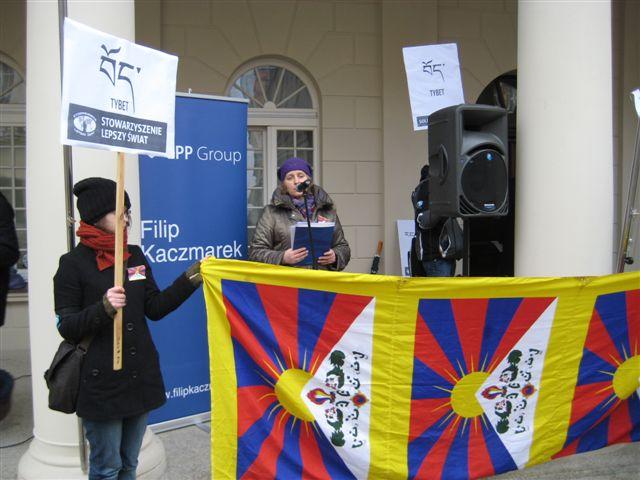 poznań dla Tybetu - Magdalena Konieczna