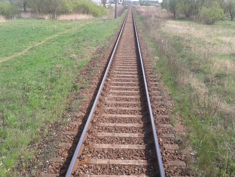tory kolejowe, szyny - Szymon Mazur