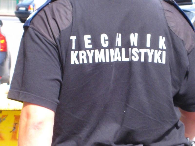 Technik kryminalistyki, policja, przestępstwo - Małgorzata Piechota