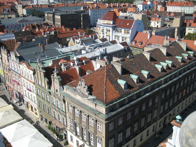 panorama poznan stary rynek kamienice - Jacek Butlewski