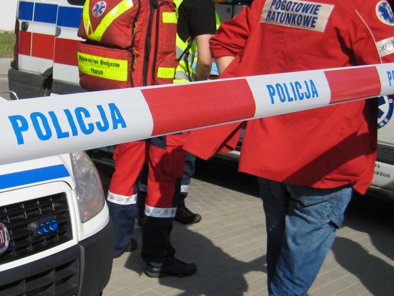 Radiowóz policyjny, alarm - Jacek Butlewski