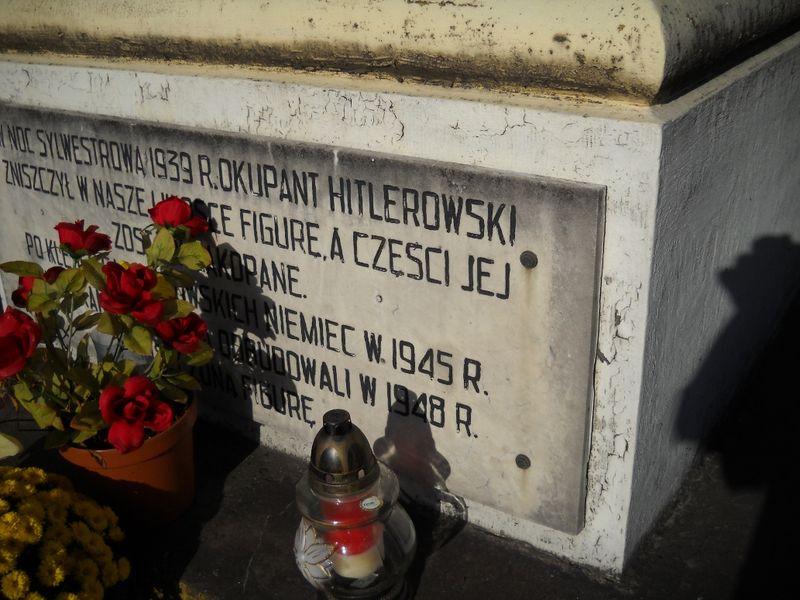 Tablica pamiątkowa w okol. ul. Obornickiej w Poznaniu