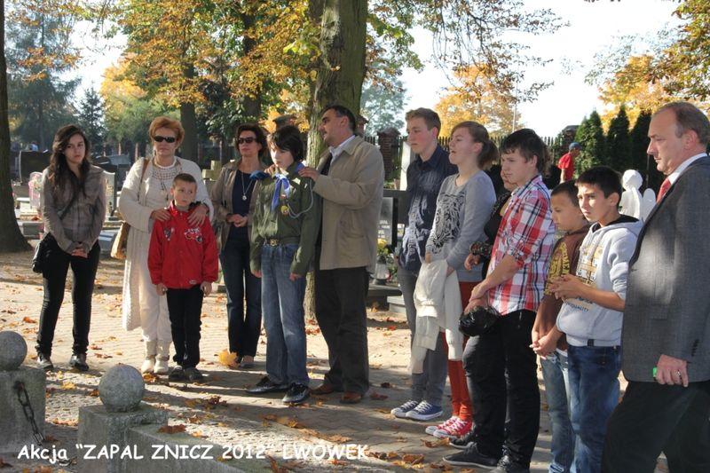 Zapal Znicz Pamięci 2012 w Lwówku