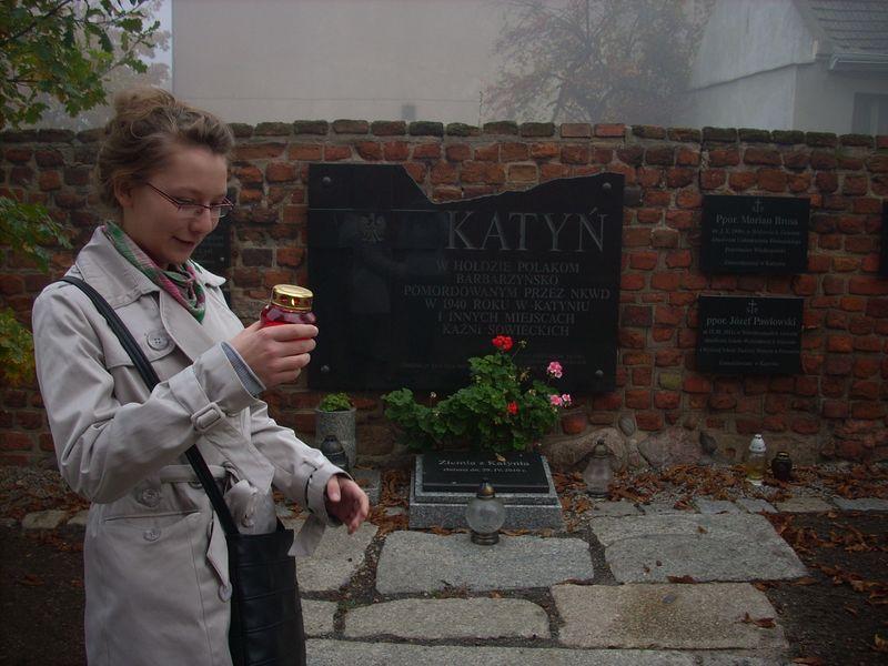 Tablica Katyńska w Gnieźnie