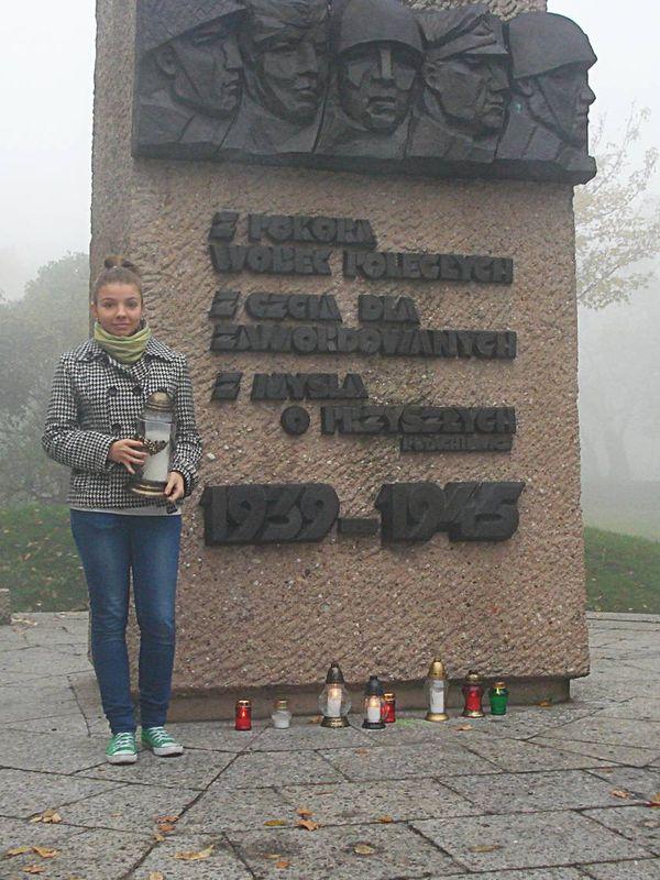 Las Miejski - pomnik pomordowanych