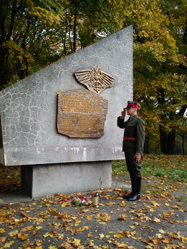 Pomnik pomordowanych w Łagiewnikach