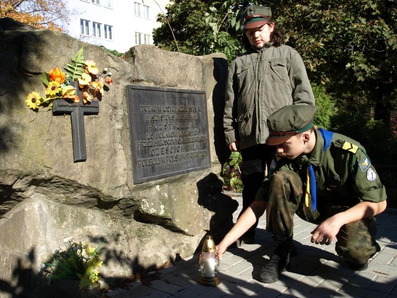 Pomnik rozstrzelanych w Bielsku-Białej