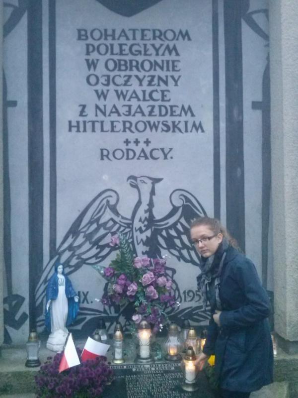 Kłecko - pomnik zamordowanych obrońców