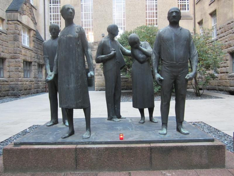 Miejsce pamięci w Dreźnie gdzie zgilotynowana została Poznańska Piątka