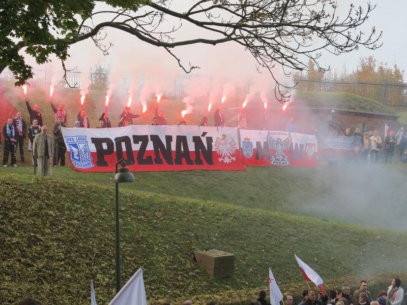 Fort VII - Zapal Znicz Pamięci 2012
