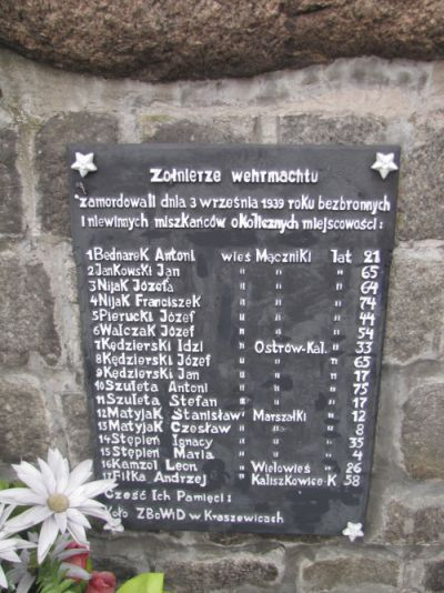 Zapal Znicz Pamięci 2012 -Mączniki, gm. Kraszewice