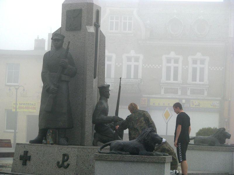 Zapal Znicz Pamięci 2012 - Margonin