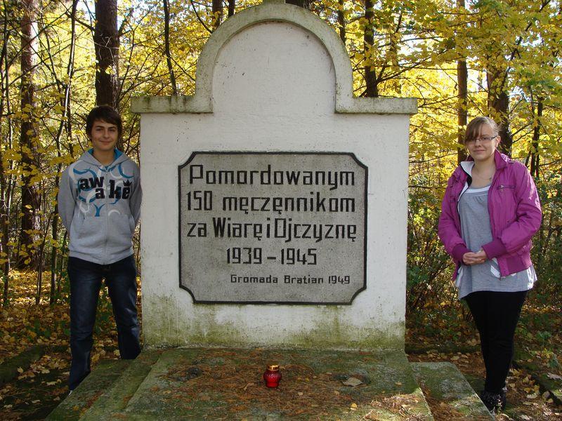 Zapal Znicz Pamięci 2012 - Bratian