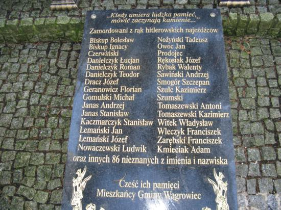 Zapal Znicz Pamięci 2012 - Wągrowiec