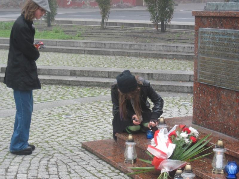 Akcja Zapal Znicz Pamięci w Bydgoszczy