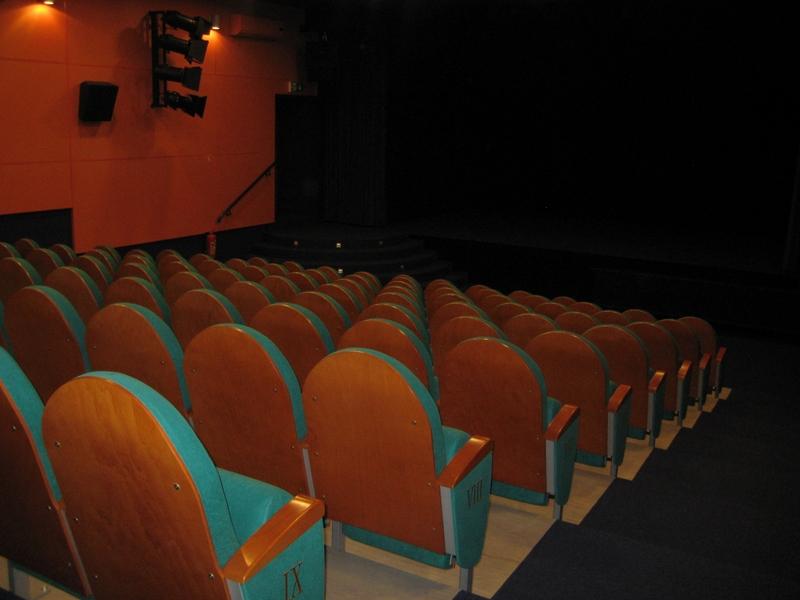 Kino, film, wnętrze kina - Radio Merkury