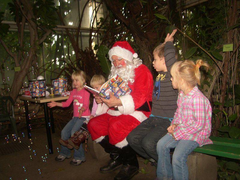 Św. Mikołaj w Palmiarni - Animacje dla dzieci