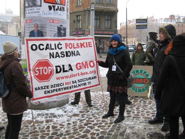 Nie dla GMO - Magdalena Konieczna