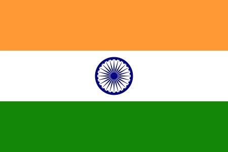Flaga Indii - Indie