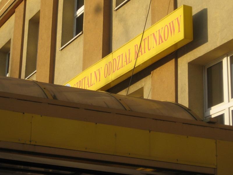 SOR, szpital, oddział ratunkowy - Magda Konieczna