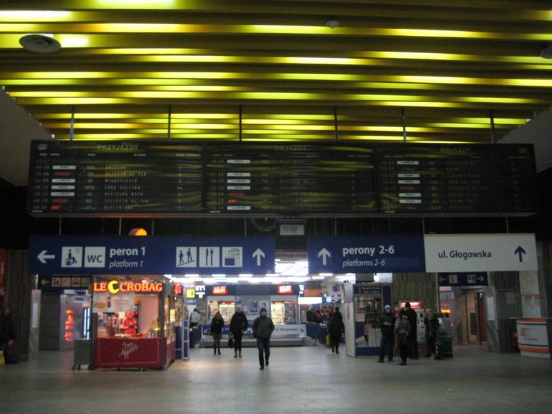 Hol dworca, stary dworzec - Anna Skoczek