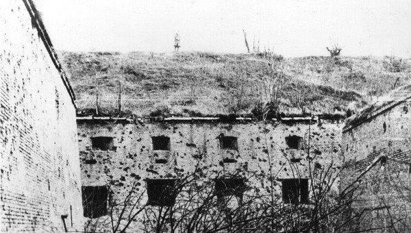 Cytadela po walkach w 1945 - Festung Posen 1945