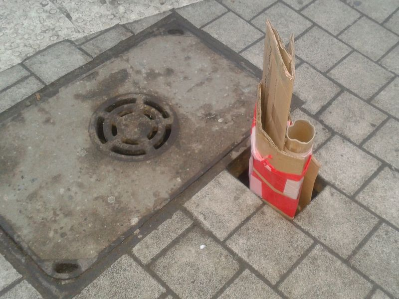 Dziura chodnikowa - Radio Merkury
