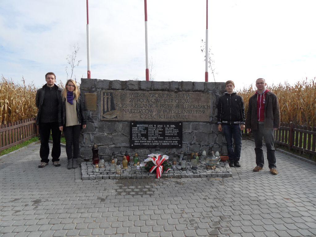 Przemysław Woźny, Weronika Wańkowicz, Wiktor Adamski, Maciej Adamski w Kocinie