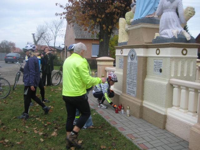 Akcja Zapal Znicz Pamięci w Byszkach