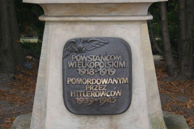 Znicze zapalone w Kostrzynie Wielkopolskim