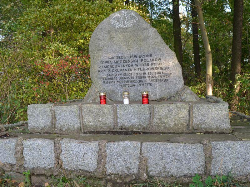 Pleszew-Malinie-Boreczek. Adam i Wojciech zapalili znicz przy pomniku