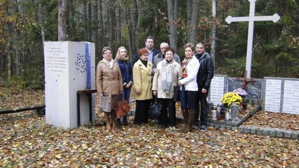Grób kapłanów-rodzina ks. Ksawerego Szynalewskiego