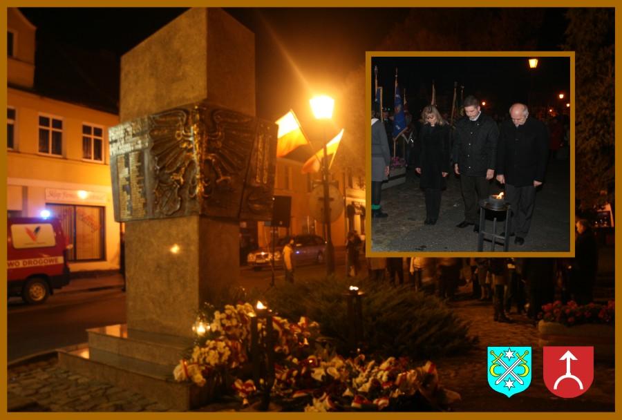 Obchody 74 rocznicy rozstrzelania przez Niemców mieszkańców Kostrzyna, Nekli i okolic – Władze Gmin Kostrzyn i Nekla