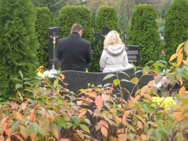 cmentarz jesienny piła - Wiesłąwa Pinkowska