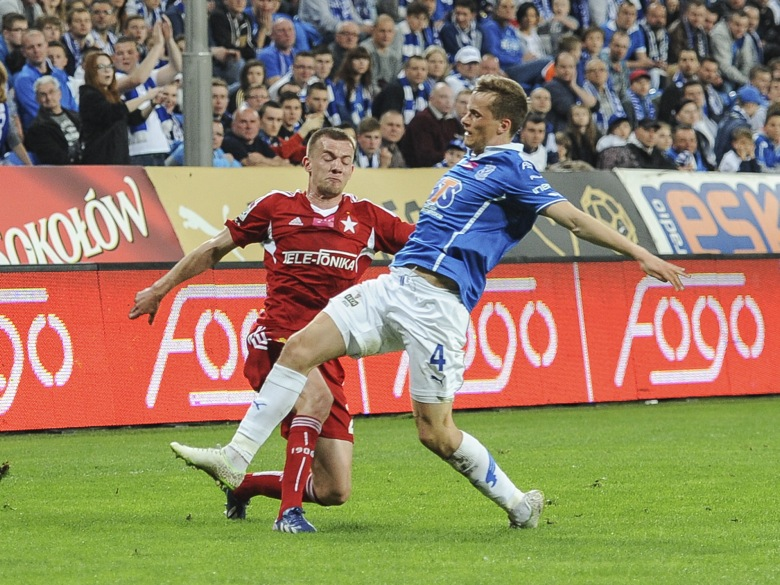 Lech - Wisła Kraków (3:0) - Przemek Modliński