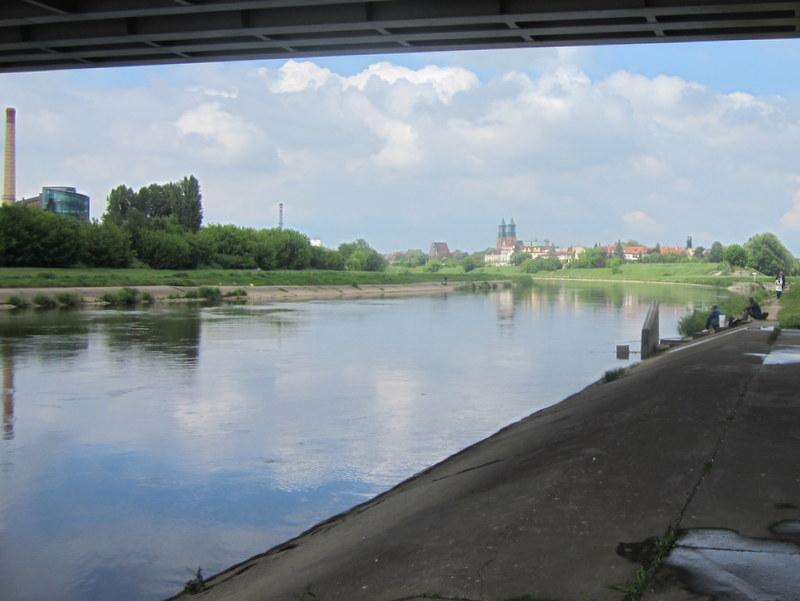 rzeka Warta w Poznaniu nad brzegiem (6) - Adam Michalkiewicz