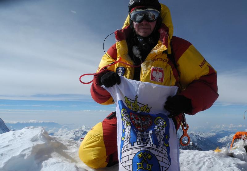 Na szczycie Everestu Pn, 25.V.14 - Bartłomiej Wróblewski