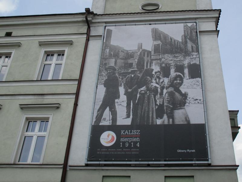zniszczony kalisz w 1914 - Danuta Synkiewicz