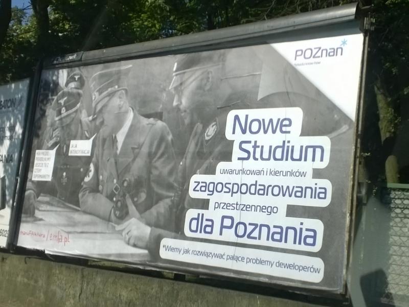 billboard z adolfem - S. Horbacz