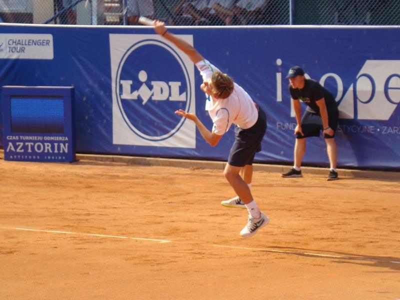 David Goffin Poznań Open (1) - Wojciech Biedak