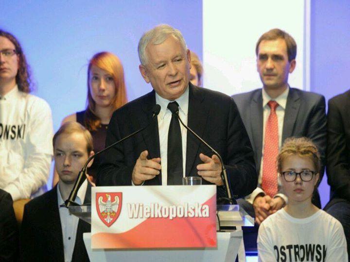 jaroslaw kaczynski targi - PiS