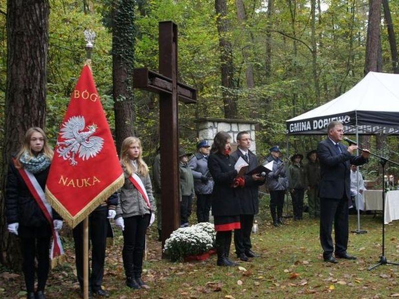Uroczystości w gminie Dopiewo - Lasy Zakrzewskie