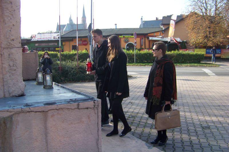 Pomnik ofiar II wojny w Turku