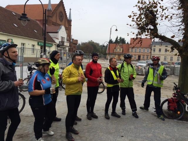 Rajd rowerowy śladami miejsc pamięci Kościan-Poznań