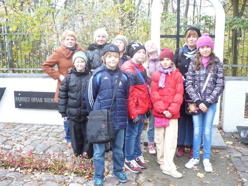 Uczniowie klasy 4c z  Zespołu Szkół nr 19 w Bydgoszczy