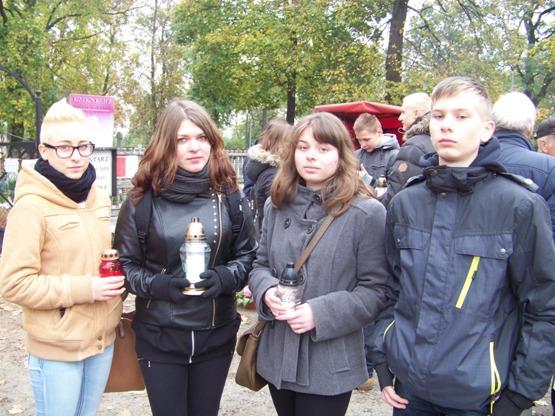 W Bydgoszczy znicze zapalili