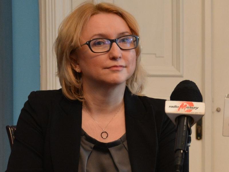 agnieszka pachciarz mikrofon - Urząd Miasta Poznania