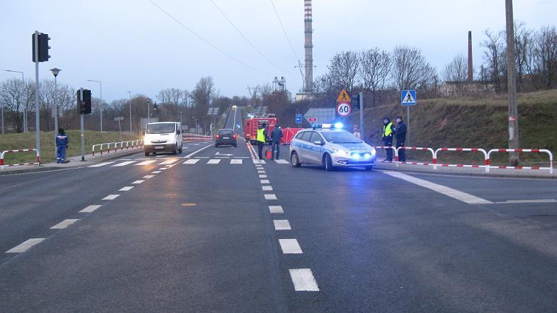 wypadek w trzemesznie - Policja/Gniezno
